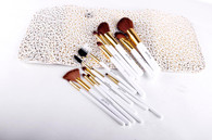 White Gold Deluxe Brush Set