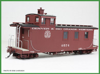 On30 D&RGW Long Caboose Kit