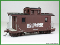 On30 D&RGW/RGS Short Caboose Kit