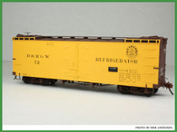 On30 D&RGW 30' Reefer Kit