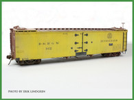 On30 D&RGW 40' Reefer Kit Road Numbers 162-169