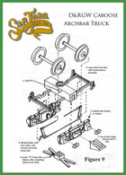 On30 D&RGW Caboose Truck Kit