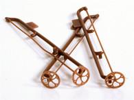 """D&RGW 16"""" Brake Wheel - Brown (3 pieces)"""