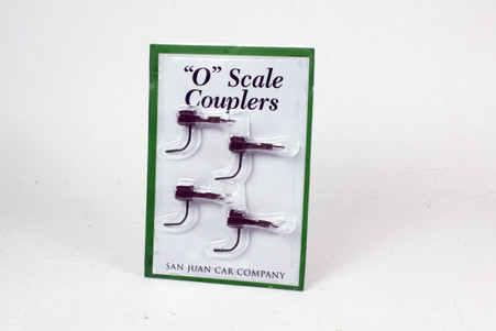 O Scale Operating Couplers - Brown