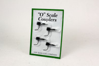 O Scale Operating Couplers - Black