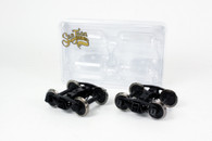 O Scale Bettendorf Trucks - Black