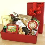 Merlot in Red Gift Box