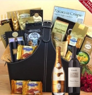 Executive Cristal & Groth Cabernet Gift Basket