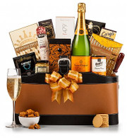 Veuve Clicquot Leather Tote