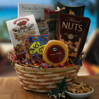 Mad About Snacks Gift Basket