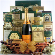 Ultimate Veuve Clicquot Champagne Basket