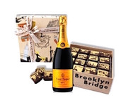 Veuve Clicquot w/NYC Caramels (16pc)