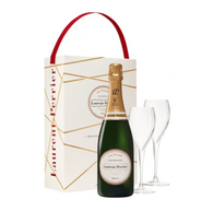 Laurent Perrier, Brut LP NV 2 Glass Gift Set