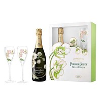 Perrier-Jouet Belle Epoque With Glassware Set 2007
