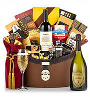 Dom Perignon & Groth Gift Basket
