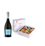 Prosecco & Pastel Macarons