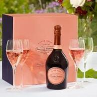 Laurent Perrier Rose Cuvee Flute Gift Set