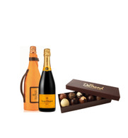 Truffle Collection 12pc W/Veuve Clicquot Champagne