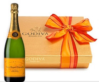 Fall Godiva Chocolates w/Veuve Clicquot Brut