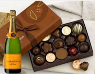Decadent  Box of Chocolates w/Champagne