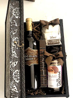 Chocolate Wine & Sweets  Metal Box