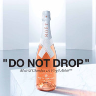 Moet & Chandon, Nectar Imperial ''DO NOT DROP'' Virgil Abloh Rose