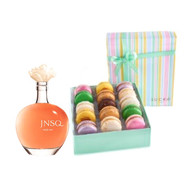 JNSQ Rose w/French Macarons