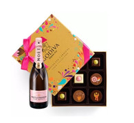Moet & Chandon Imperial Rose w/Godiva 9pc Festival Collection