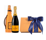 Father's Day Godiva Chocolates w/Veuve Clicquot Champagne