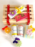 Cookie & Champagne Picnic Crate