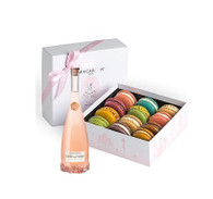 French Macarons & Rose