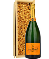 Veuve Clicquot Magnum in Wood Crate