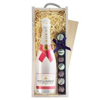Moet & Chandon Ice Imperial Rose & Godiva Truffles