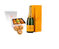 Thanksgiving Macarons w/Veuve Clicquot Champagne