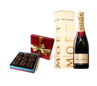 Moet Chandon Imperial Brut w/Brownies
