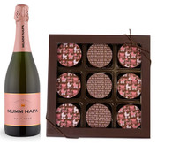 Baby Girl Chocolate Oreos w/Mumm Napa Rose