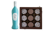 Baby Boy Chocolate Oreos w/Pinot Grigio Wine