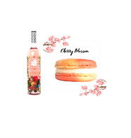 Cherry Blossom Macarons 12pc. w/Wolffer Estate Summer in a Bottle Rose