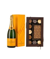 Graduation Chocolates w/Veuve Clicquot Champagne