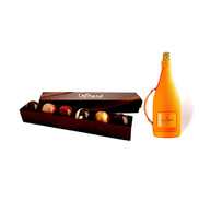 DeBrand 6pc Truffles w/Veuve Clicquot Ice Jacket