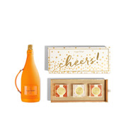 Sugarfina Cheers 3pc Candy Box w/Veuve Clicquot Champagne