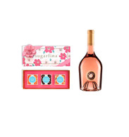 Miraval Rose w/Sugarfina 3pc Floral Candy Box