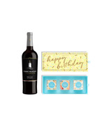 Sugarfina Happy Birthday 3pc Candy Box w/Wine