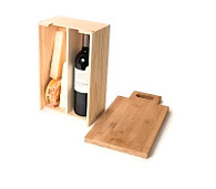 Say Cheese Wine Box & Cutting Board