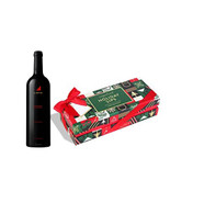 Holiday Sips 3pc Candy Box w/Justin Cabernet