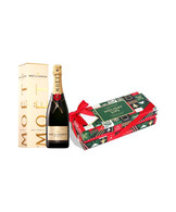 Holiday Sips Candy Box w/Moet Chandon Brut