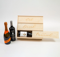 Eat, Drink & Be Married Gift Crate