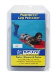 Dry Pro Small Full Leg Waterproof Cast Cover Circumference 14 - 16.5 inches (35-41 cm) Length 29 inches (74 cm)