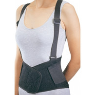 """Industrial Back Support PROCARE® X-Large Hook and Loop Closure 42 to 50 Inch Unisex  BACK SUPPORT, INDUST W/SUSP 42""""-50"""" XLG"""