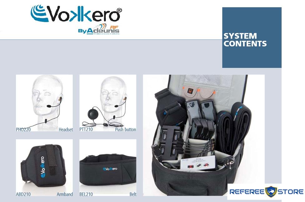 Vokkero Squadra Referee Headsets